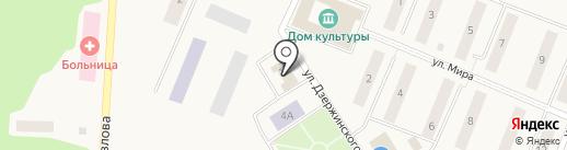Почтовое отделение на карте Кедрового