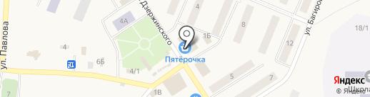 Губернские аптеки на карте Кедрового