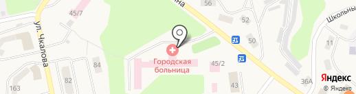 Травмпункт на карте Дивногорска