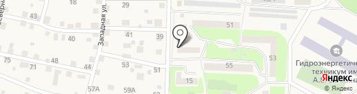 Братский причал на карте Дивногорска