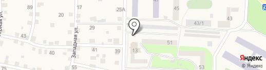 НПС на карте Дивногорска