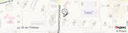 Инструмент-Крепеж на карте Дивногорска