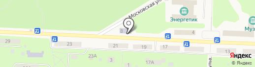 Централизованная библиотечная система на карте Дивногорска