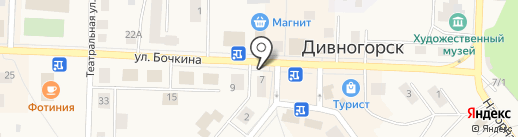 Магазин продуктов пчеловодства на карте Дивногорска