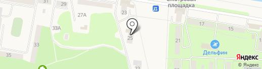 Городская библиотека им. В.Г. Распутина на карте Дивногорска