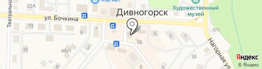 Банкомат, Совкомбанк, ПАО на карте Дивногорска