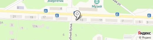 Городской расчетно-кассовый центр на карте Дивногорска