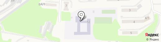 Средняя общеобразовательная школа №2 им. Ю.А. Гагарина на карте Дивногорска