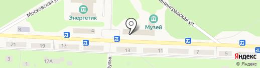 Дивногорский городской суд на карте Дивногорска