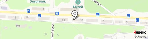Банкомат, Восточный экспресс банк, ПАО на карте Дивногорска