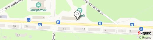 Прокуратура г. Дивногорска на карте Дивногорска