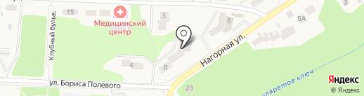 Универсальное ателье на карте Дивногорска