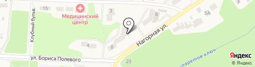 Сарма на карте Дивногорска