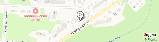 Пион-фарма на карте Дивногорска