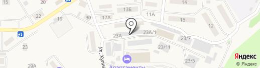 Автосервис на карте Дивногорска
