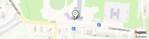 Дивногорский колледж-интернат олимпийского резерва на карте Дивногорска