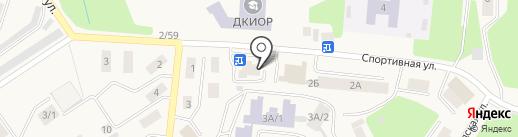 Оазис на карте Дивногорска
