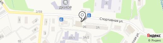 Ассорти на карте Дивногорска