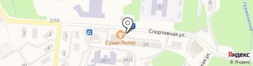 Буратино на карте Дивногорска