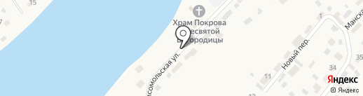 Фельдшерско-акушерский пункт на карте Усть-Маны