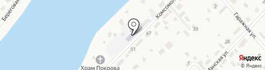 Детский сад №5 на карте Усть-Маны