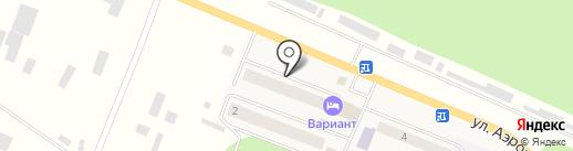 АвтоАнгел24 на карте Емельяново