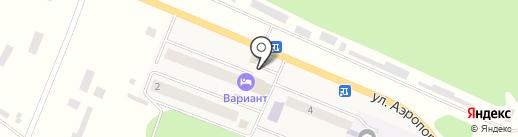 ОМЕГА ТРИВ на карте Емельяново