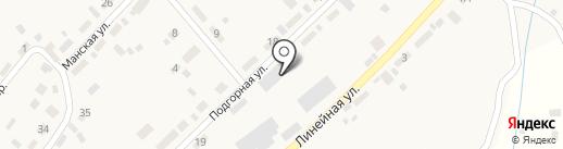 Мастерская Михаила Репина на карте Усть-Маны