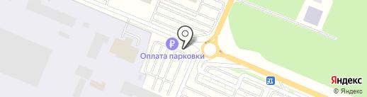 ЕвроПаркСервис на карте Емельяново