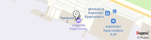 Банкомат на карте Емельяново