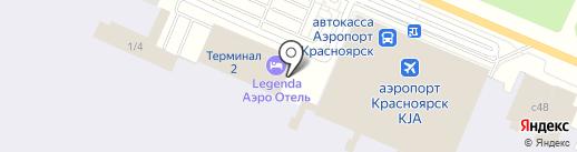 Фэшн Авиэйшн на карте Емельяново