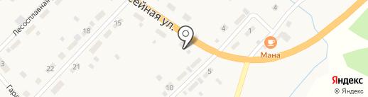 Гермес на карте Усть-Маны