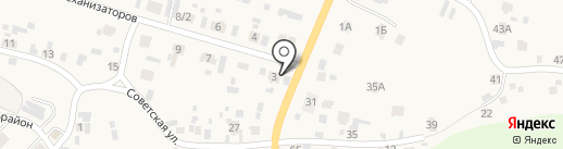 Шиномонтажная мастерская на карте Элиты