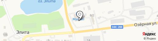 САДОВЫЙ МИР на карте Элиты