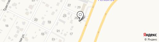 Шина на карте Элиты