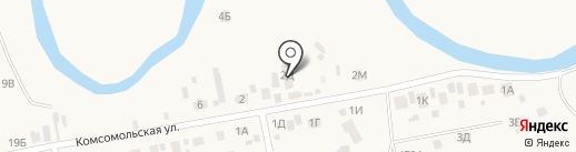 Конный двор на карте Емельяново