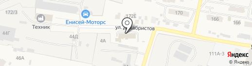Пожарная часть на карте Емельяново