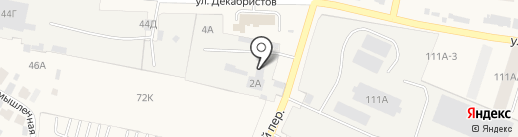 ААС-124 на карте Емельяново