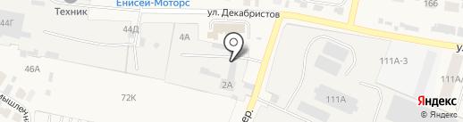 Торговая компания на карте Емельяново