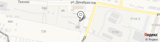 ЗАВОД СТРОЙТЕХНИКА на карте Емельяново