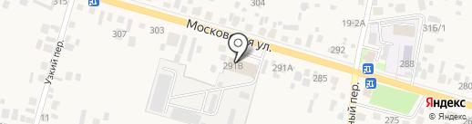 Дорожно-эксплуатационная организация на карте Емельяново