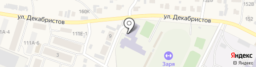 ДЮСШ по баскетболу на карте Емельяново