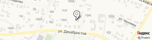 Ретэн на карте Емельяново