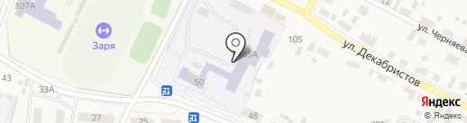 Емельяновский детский дом на карте Емельяново