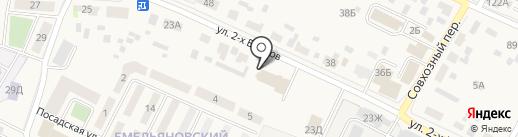 ИФНС на карте Емельяново