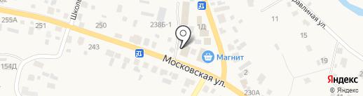 Антей на карте Емельяново