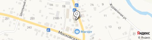 Магазин товаров для дома на карте Емельяново