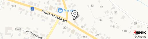 Смайлик денер на карте Емельяново