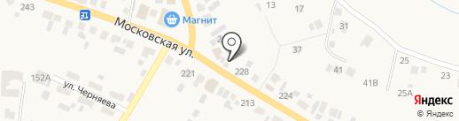 АВИН на карте Емельяново