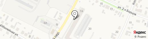 У`Дачный на карте Емельяново